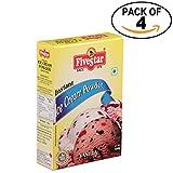 Five Star Vanilla Ice Cream Mix, 100g - Pack of 4