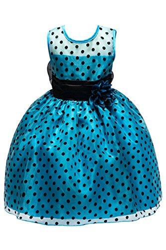 yming-fille-robe-demoiselle-dhonneur-taille-haut-robe-a-pois-noeud-ceremonie-robe-bouquetierebleu3-4
