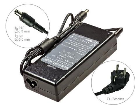 Bloc d'alimentation adaptateur CA chargeur pour ordinateur portable TOSHIBA Satellite 2521e PA PA2521E-2AC3PA 3092u PA 2521u PA2521U. Avec câble d'alimentation euro Marque e-port24®