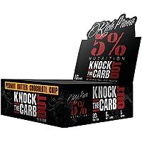 Preisvergleich für Rich Piana Knock The Carb Out Keto Riegel Peanut Butter Chocolate Chip 68 g by 5% Nutrition (10)