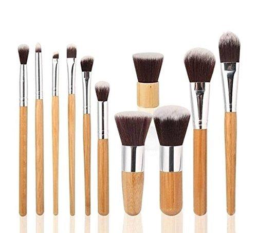 Foolzy Professional Makeup Brush Set (11 Pieces)