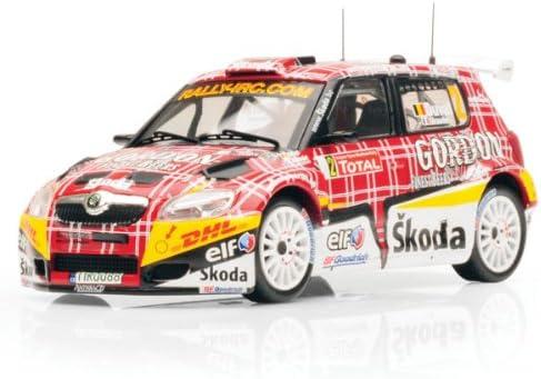 ixo MODELS Skoda Fabia S2000 Ypres Rally 2009 1:43 | Bradées
