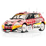 IXO 1/43 Skoda Fabia S2000 No2 IRC Ypres Rally 2009 (japan import)