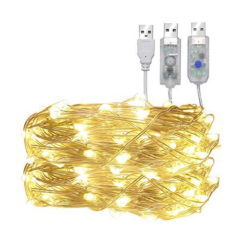 Jenify String Lights Outdoor LED-Streifen Light Indoor Wasserdicht LEDs Weihnachts Hochzeits-Party-Schlafzimmer,4Mblue