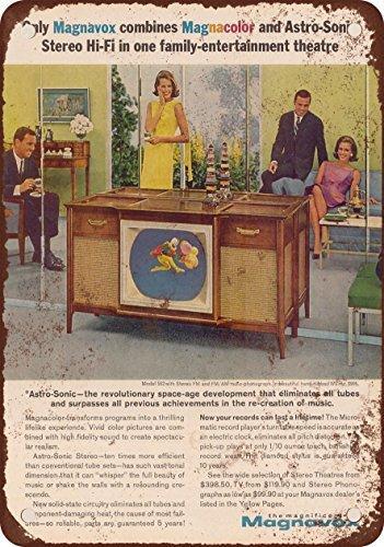 1963-magnavox-reproduccion-de-colores-con-televisores-aspecto-vintage-metal-tin-sign-7-x-10-pulgadas