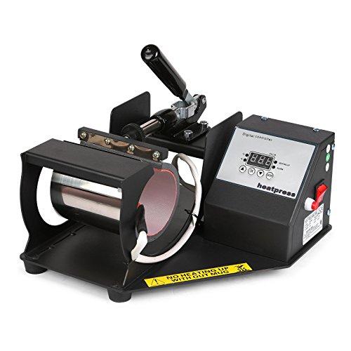 Lartuer Transferpresse Tassenpresse Heat Press Machine für zylindrische und konische Tassen 2 in 1 Digitale Zeitregelung und Temperaturüberwachung (2 in 1 Tassen) - 2