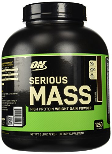 Optimum Nutrition (ON) Serious Mass Rich Chocolate 6 lb  available at amazon for Rs.3590