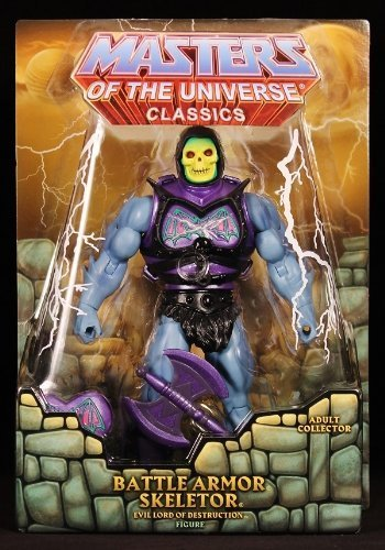 MOTU/ He Man Classics Battle Armour Skeletor Figure by Mattel