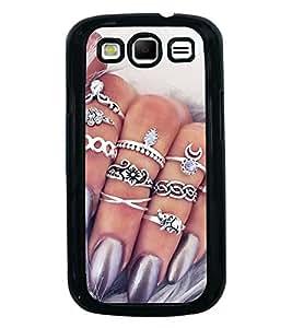 Printvisa Ultra Bling 2D Hard Polycarbonate Designer Back Case Cover for Samsung Galaxy S3 i9...