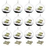 Bougeoir en verre suspendu, décoration de bougie au restaurant du mairage...