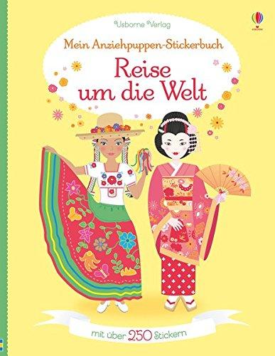 Mein Anziehpuppen-Stickerbuch: Reise um die - Feen Welt Kostüm