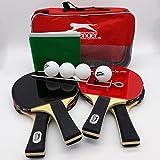 Tischtennis Set 12tlg. 4 Schläger 4 Bälle 1 Tasche 1 Netz Tisch Tennis Ping Pong
