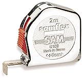 Sam Outillage U-109-A Samflex Mesure avec agrafe 2 m