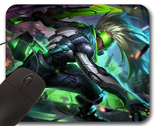 Mousepad Ekko Project Skin - Tappetino per Mouse LOL League of Legends