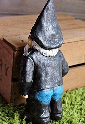 Biker Garden Gnome Statue Outdoor Garden Figurine In