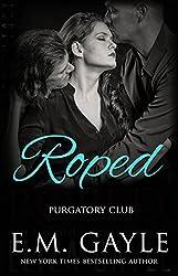 ROPED (BBW Menage Romance) (Purgatory Club Series Book 1) (English Edition)