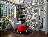 Lxsart Vliestapete Moderne Wanddeko Tapetenbahnklassiker Glitter Vlies Hintergrund 3D Tapeten für Wohnzimmer Wandverkleidung, B