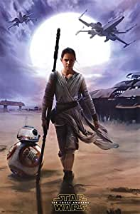 Star Wars The Force Awakens - Rey Poster (55,88 x 86,36 cm)