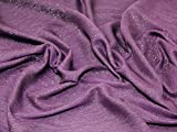 Glitzernde Lurex Crinkle Chiffon Kleid Stoff