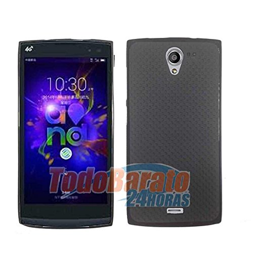Funda Negra Gel Tpu para Orange Nura / Alcatel One Touch M812