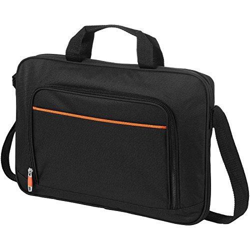 Borsa conference portacomputer 14'' - solido nero/arancio solido nero/arancio