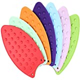 Royals silicone iron rest ironing pad hot mat ironing helpers ironing insulation boards (1 PC Random Color)(Made in India)