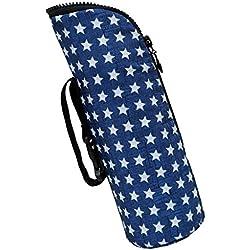 Sharplace Sac Biberon Sac Isotherme Sac Thermique Bouteille Bébé Pochette pour Bébé Biberon Fille Bébé Garçcon - Étoile bleue