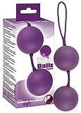 You2Toys Balls lila - softe Liebeskugeln für Frauen, 2 Loveballs mit rotierendem Vibroball, Sexspielzeug für Beckenbodentraining, pink