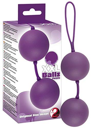 *You2Toys XXL Balls lila Liebeskugeln*