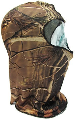 Shihan-Maschera 'Camo ARMY'JL-Maschera da sci Camouflage Pring tutto moto Biker-Maschera da Paintball, Sciarpa, taglia unica, per Halloween Fancy Dress-Costume da motociclista, Maschera intera, collo invernale Balaclava Maschera sci, tappi e moto