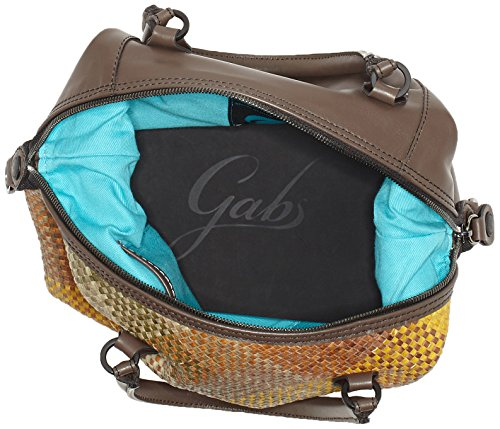 GABS G3-B M INFIES, Borsa a Mano Donna, 1x31x38 cm Multicolore (Green Colors)