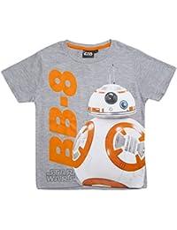 Star Wars Kollektion 2017 T-Shirt 104 110 116 122 128 134 140 146 Jungen Neu BB8 Grau