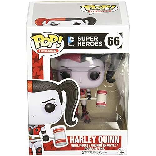 FunKo Figurine DC Comics - Harley Quinn Roller Derby Exclu Pop 10cm - 0849803052607