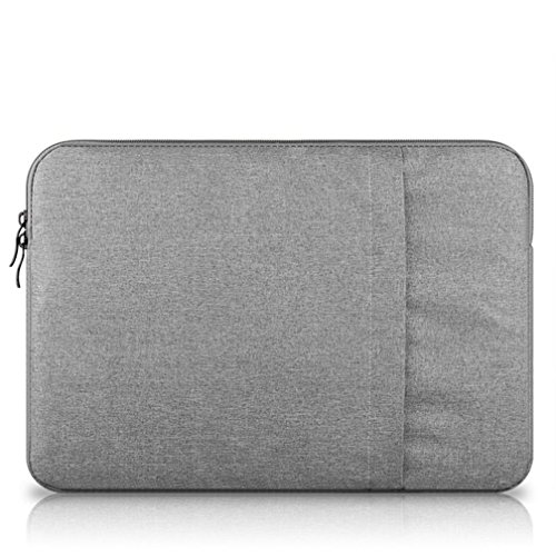 GADIEMENSS Wasserabweisend Notebook Computer Fall Laptop Sleeve Tasche Tasche für Apple MacBook/MacBook Pro/MacBook Air, grau, 12 inches