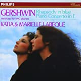 Rhapsody in blue : version pour deux pianos : version pour 2 pianos = Piano concerto in F. Concerto en Fa majeur | Gershwin, George (1898-1937)