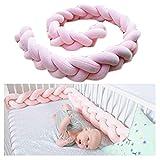 Baby Kinderbett Stoßstangen Zöpfe breit Schutz Schlange Kissen Home Dekoration 200cm