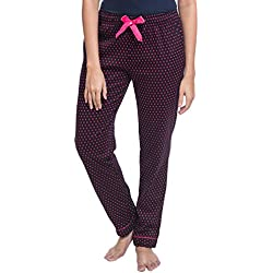 Nite Flite Women's Polka Dot Winter Cotton Pajamas