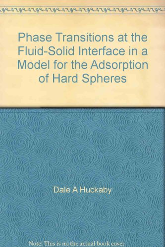 Phase Transitions at the Fluid-Solid Interface in a Model for the Adsorption of Hard Spheres