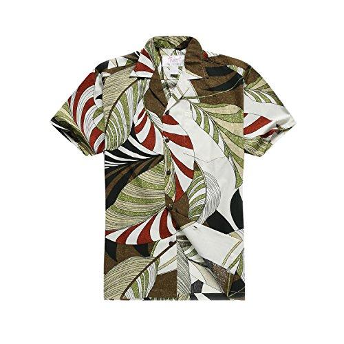 Hawaii-Hangover-camisa-hawaiana-camisa-de-X-Large-multicolores-de-los-hombres