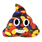 Omiky® Colorful Poo Cushion, Camouflage Amusing Emoji Emoticon Pillow Soft Plush Cushion Toy Gift for Car Home Office