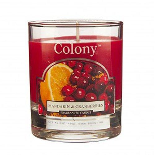 Mandarin & Cranberries Small Candle Jar by Wax Lyrical -