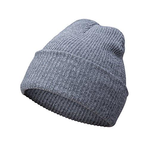 A.P. Donovan Herren Wintermütze ✔︎ Strick-Mütze | Wollmütze Beanie (Hellgrau) (Männer Winter Mützen-designer)