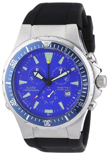 Nautec No Limit Herren-Armbanduhr Betta BT QZ-ALA/RBSTBLBL (Betta Wasser)