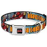 Buckle Down 22,9–38,1cm avd-Marvel Marvel Avengers Hund Halsband