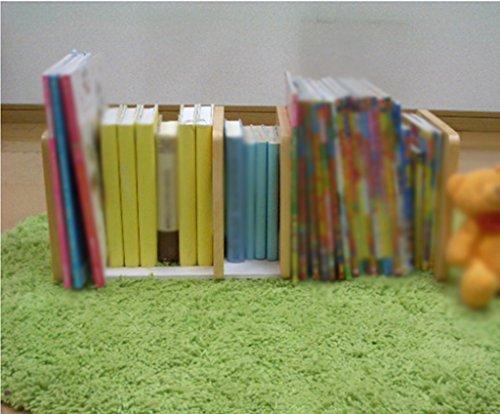 Libro Estantería 648 (L) * 220 (W) * 220 (H) Mm Madera Color Niño Escritorio Madera maciza