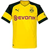 Puma Herren BVB Home Replica J with Evonik Logo T-Shirt, Cyber Yellow, Large