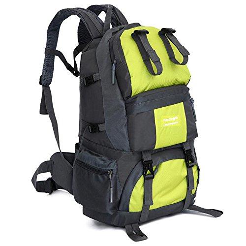 50L Outdoor-Rucksack-Beutel-wasserdichte Bergsteigen Wandern Camping Reisen Daypack Green