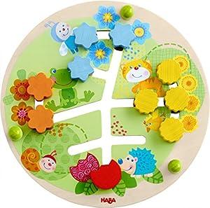 HABA 303852 Juego Educativo - Juegos educativos (Multicolor, Child, Niño/niña, 1 año(s), Flor, Haya, Madera contrachapada)