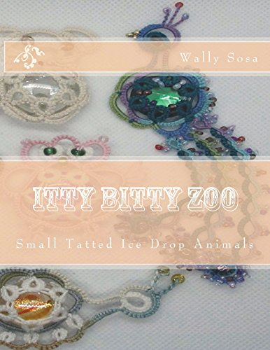 Itty Bitty Zoo: Small Tatted Ice Drop Animals -