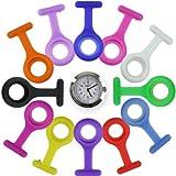 Pulox 20132117 - Reloj (incluye 12 fundas de silicona de diversos colores)